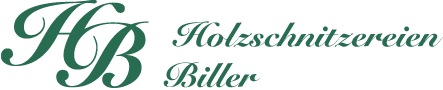 Holzschnitzereien-Biller Logo